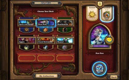 炉石传说新手卡集选择,好的卡集好的开局!