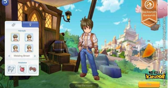 仙境传说ro新世代 铁匠养成攻略,配点、技能、装备、卡片推荐!